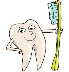 curatarea dintilor